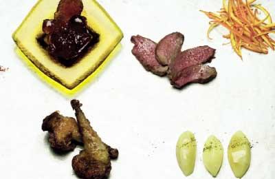 piccione con verdure
