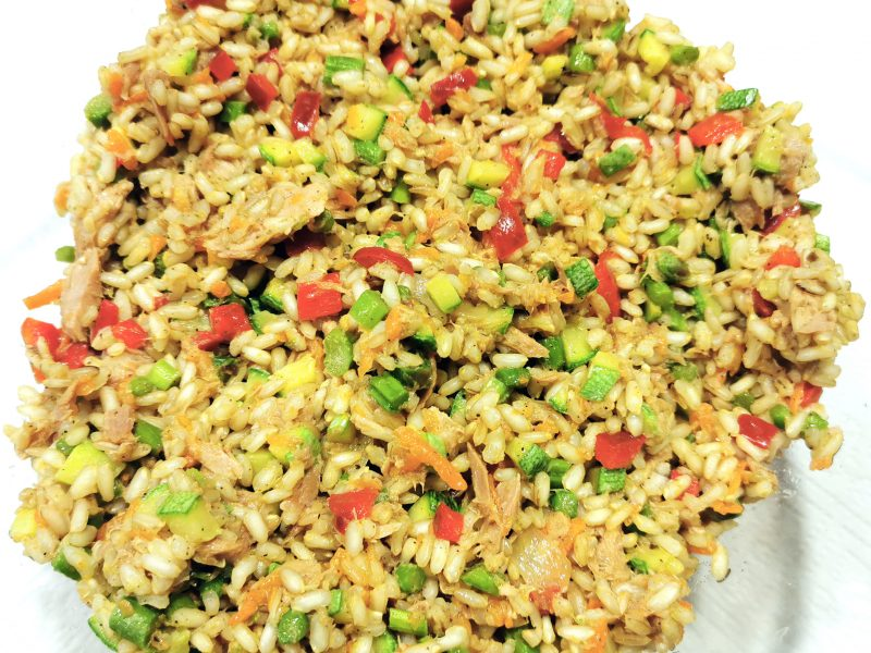 insalata riso integrale
