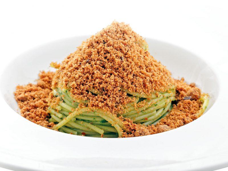 spaghetti briciole di mare