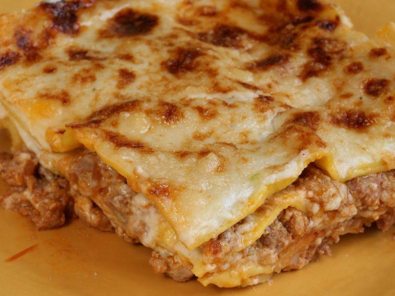 lasagna pasta gialla