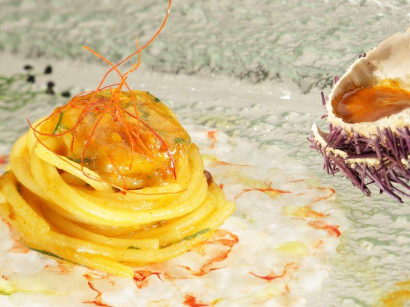 Spaghetti di Gragnano alla polpa di riccio-cappuccio1
