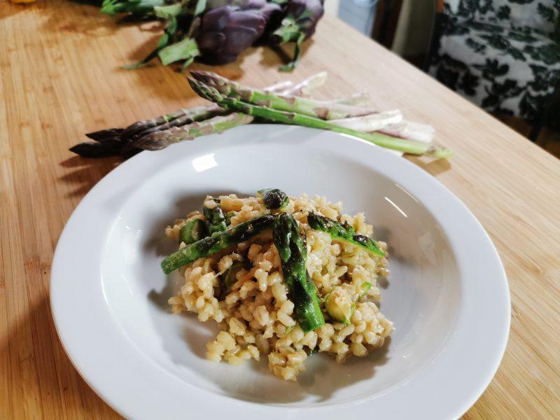 Orzo asparagi