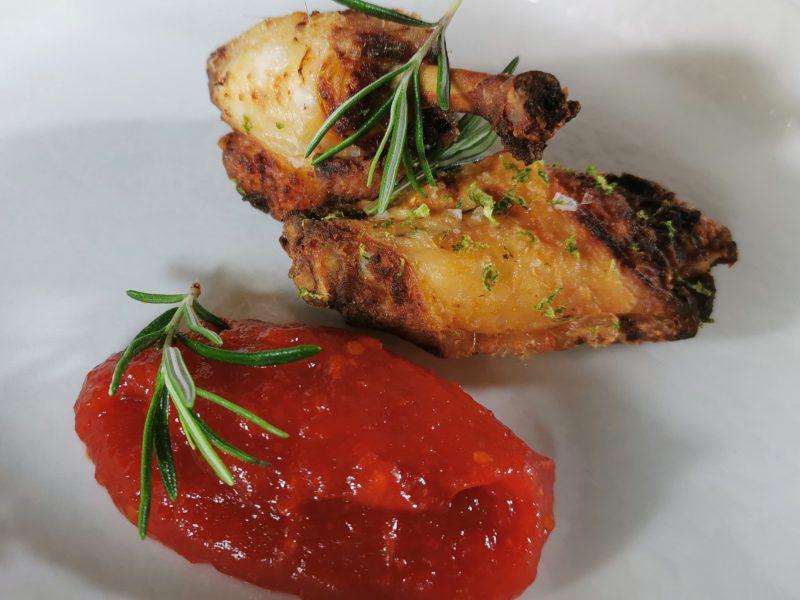 pollo e ketchup