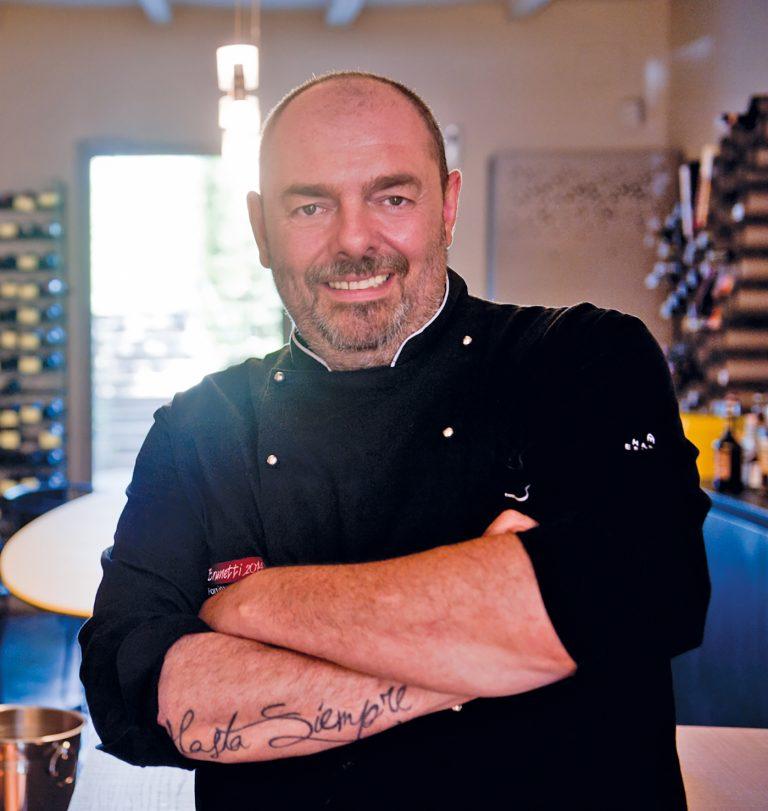 Chef Massimiliano Poggi