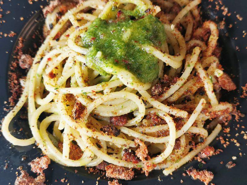 spaghetto aglio olio e peperoncino