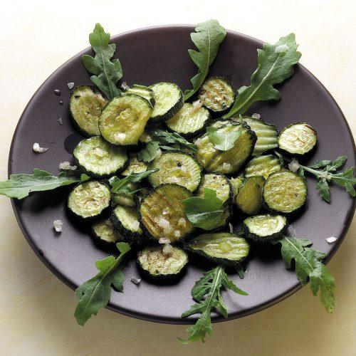 zucchine grill e ruc