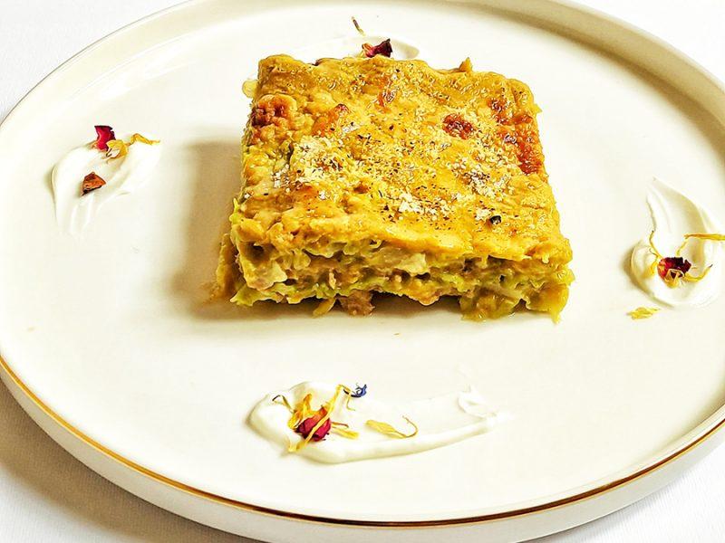 Lasagna di verza di chef Marcella Orsi - chetogenica, senza glutine, lowcarb