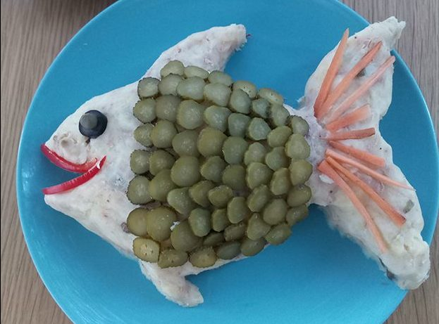 pesce finto