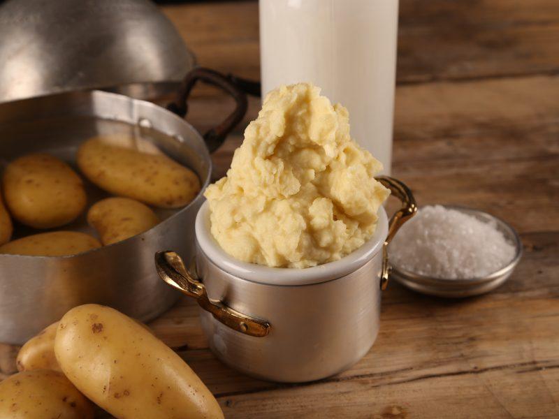 Purè di patate degli chef Elisabetta Tanzi e Roberto Benini