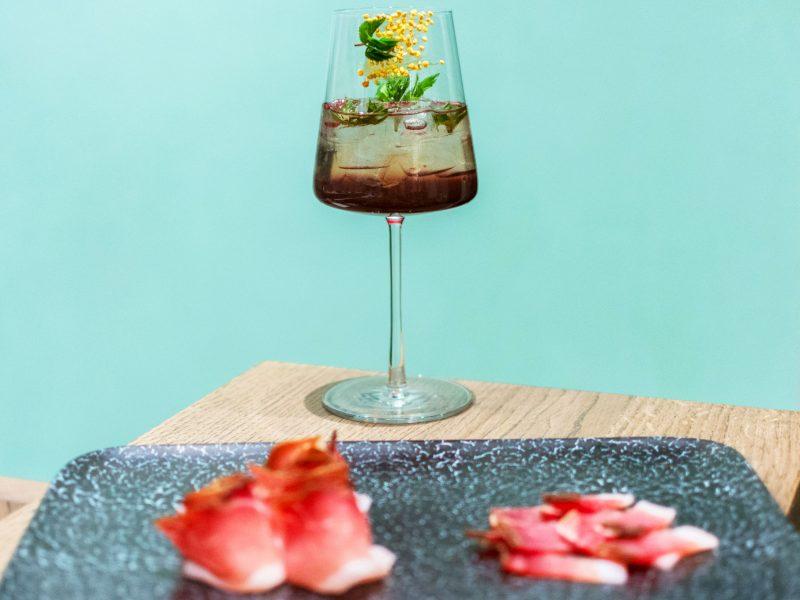 Speck Alto Adige IGP di Recla e l'aperitivo S'Pombastico