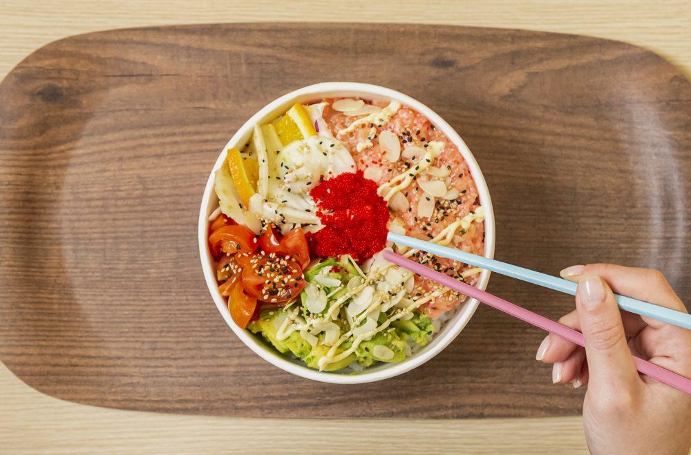 I LOVE POKÉ: una bowl
