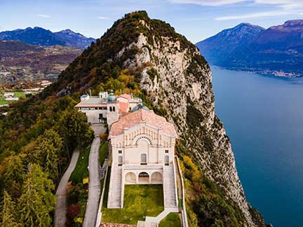 Lago di Garda_Tignale_Santuario Montecastello_Visitbrescia