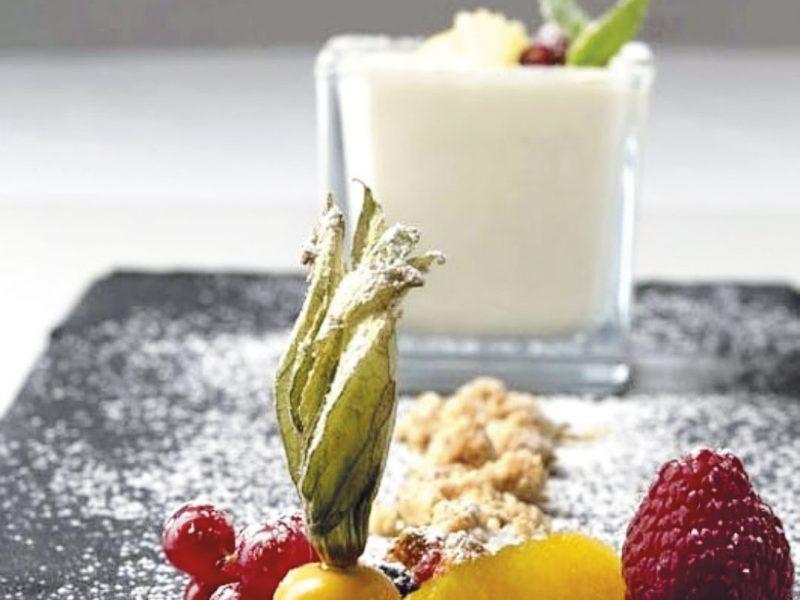 Fresco di limone dello chef Maurizio Urso