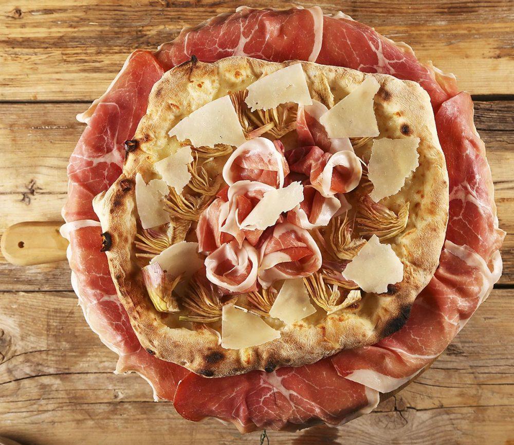 Pizza Primavera (di nome e di fatto)