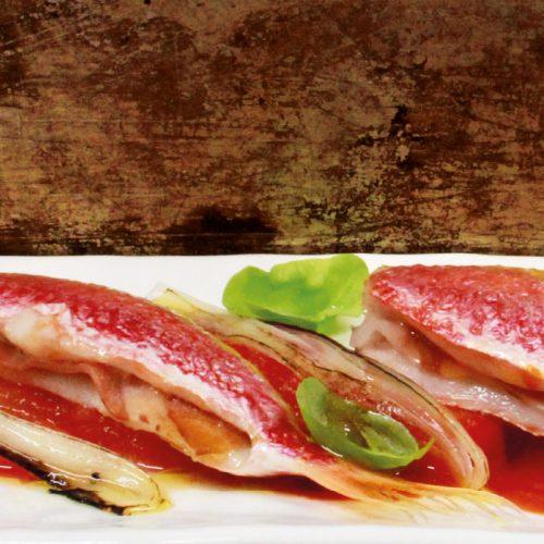 Sandwich di triglia: una ricetta dello chef Tiziano Rossetti del ristorante Osteria L'Angolo Divino di Urbino